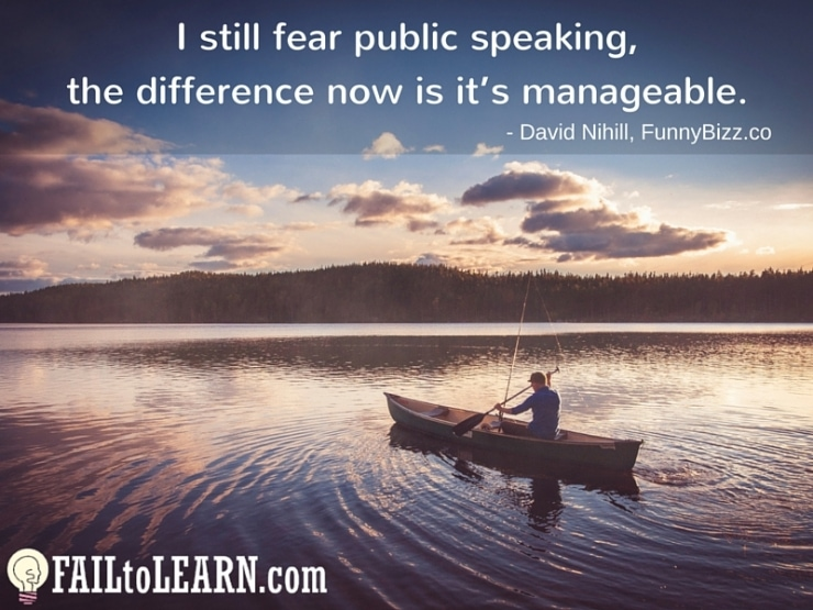 David Nihill-I still fear public speaking, the difference now is it's manageable.