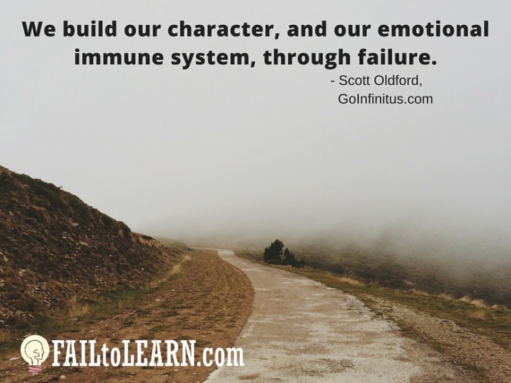 Scott Oldford-We build our character, and our