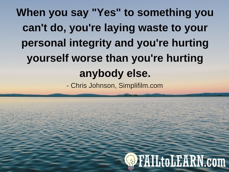 Chris Johnson - When you say
